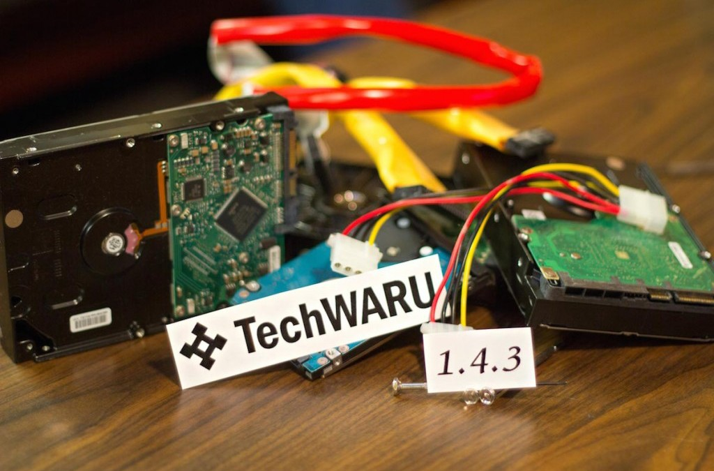 TechWARU 1.4.3 is Now Available!