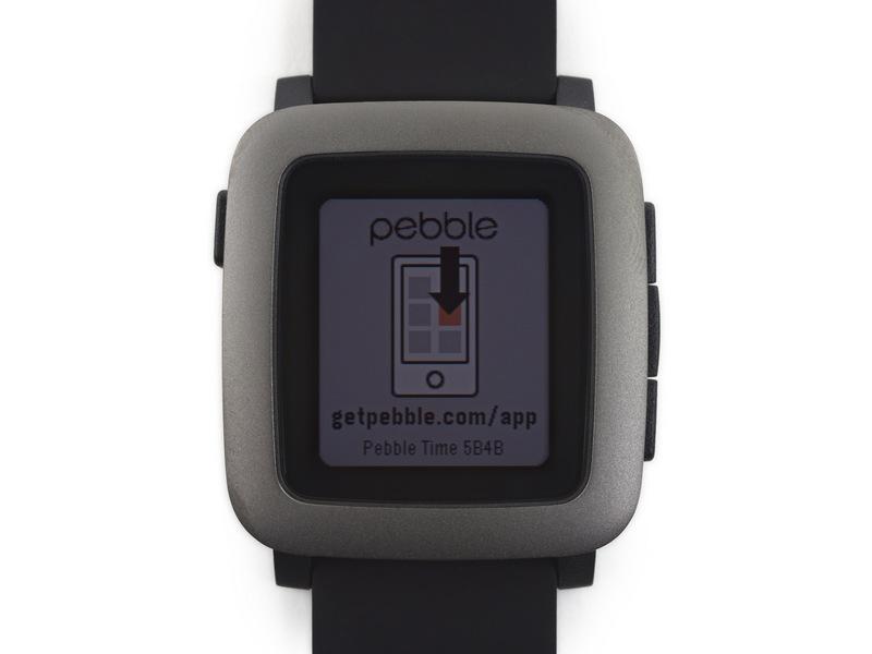 Pebble Time Impresses on Teardown Table