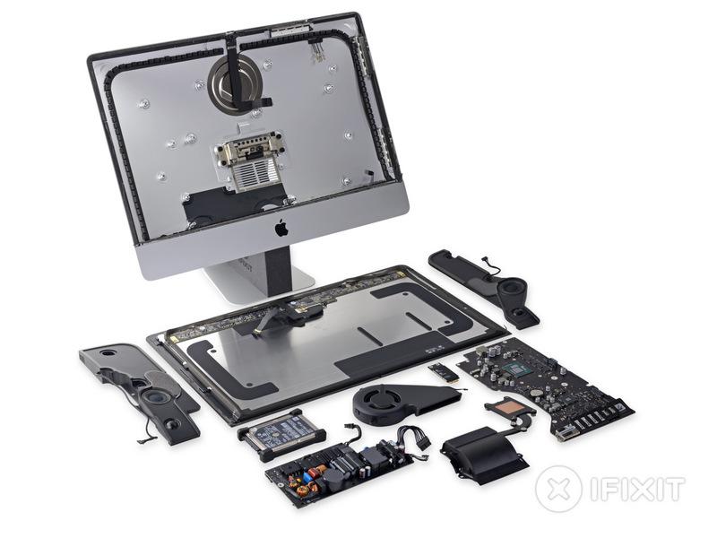 21.5″ iMac 4K Retina Teardown Reveals Display-Optimized Design