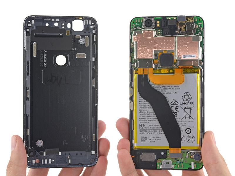 Huawei Nexus 6P Teardown
