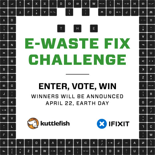Turn Your E-waste into Something Cool—Win Cool Prizes