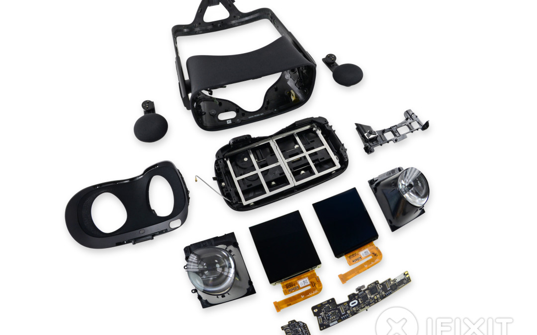 Enter the Oculus teardown. Exit Reality.