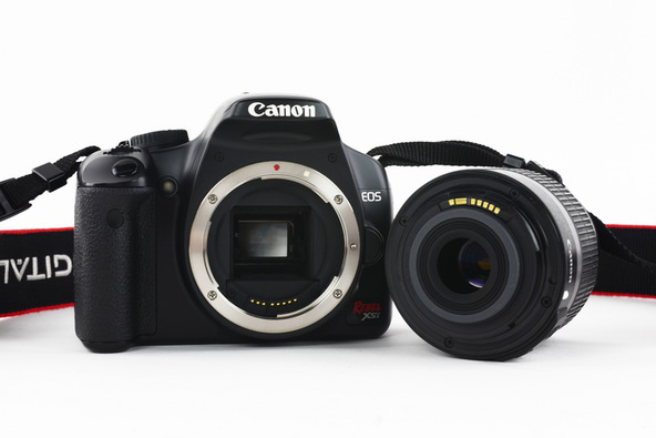 A Different Focus: Requiem for My Old Canon Rebel