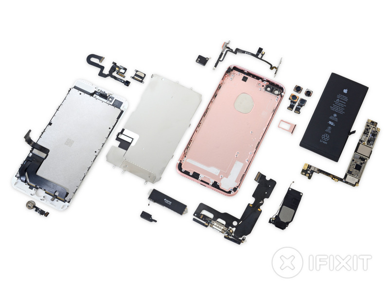 iPhone 7 Plus Hits the Teardown Table