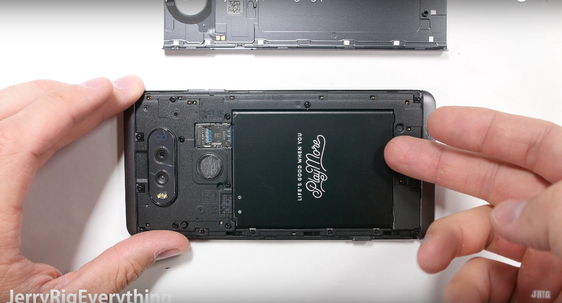 LG V20: The V Stands for Very Repairable