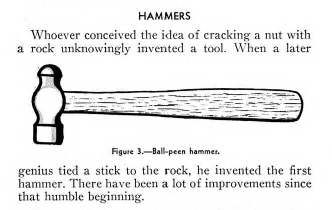 This 1945 Naval Tool Manual is Wonderful