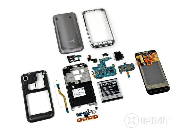 6 Years of Samsung Galaxy S Teardowns
