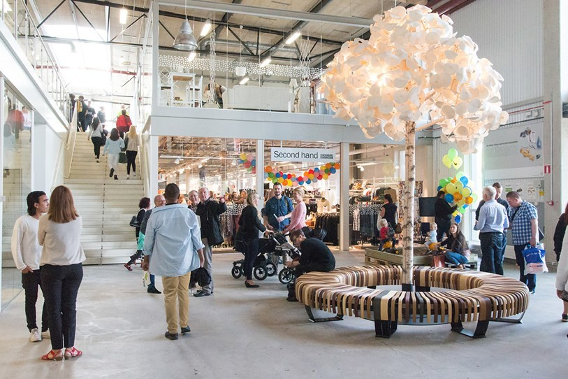 Sweden Opens Mall Just for Recycled and Repaired Goods