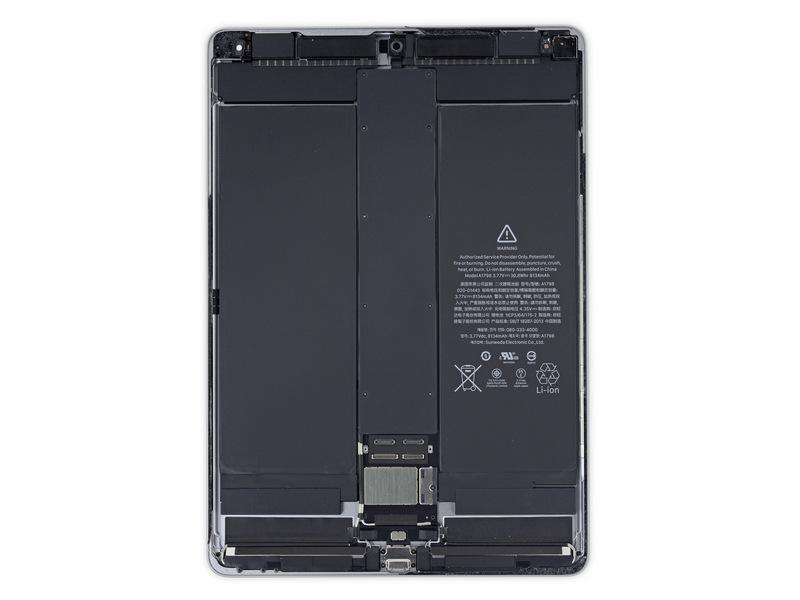 "Teardown: 10.5"" iPad Pro Brings Standardization"