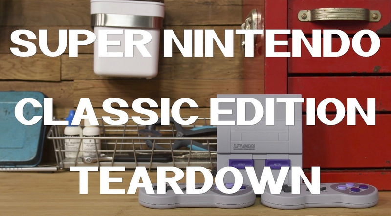 This SNES Classic Edition Teardown Gave Us All the Nostalgia